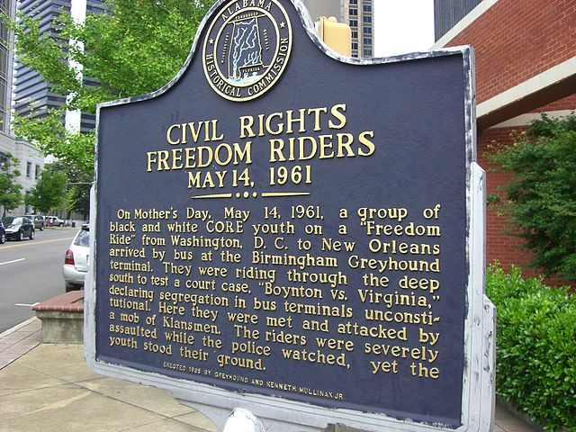 Today in Afro History ! Freedom rides begin in 1961 ! The First of the freedom riders left from Washington D.C. !