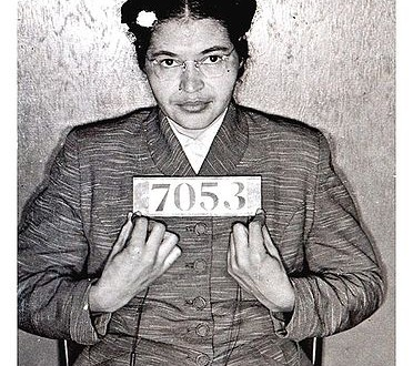 Today in Afro History !  Rosa Parks is arrested for refusing to give up her seat on the bus to a white man in 1955.