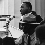 "Today in Afro History ! Rev. Dr. Martin Luther King gives his "" I have a dream speech"" at the March on Washington in 1963 !"