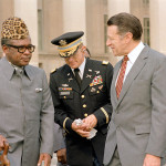 Today in Afro History ! Mobutu Sese Seko seizes total control over The Democratic Republic of the Congo and becomes President in 1965. He renames it Zaire in 1971 !