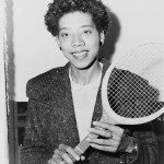 Today in Afro History ! Althea Gibson becomes first Afro American woman to win Wimbledon in 1957 !