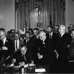 Today in Afro History ! Civil Rights Act of 1964 signed into law !  Vermont becomes the first American territory to abolish slavery in 1777 !