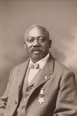 Today in Afro History ! Sgt. William H. Carney becomes first Afro American to receive the Congressional Medal of Honor in 1900 !