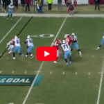 "Mariota can actually Thank God for this Play because it does look like Intervention here ""Video"""